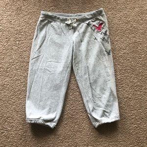 Grey Capri Sweatpants.